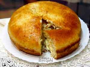 Пирог с творожной массой. Пироги  рецепты с фото