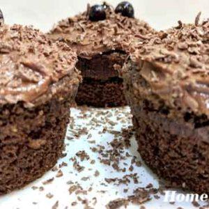 Кексы шоколадные маффины
