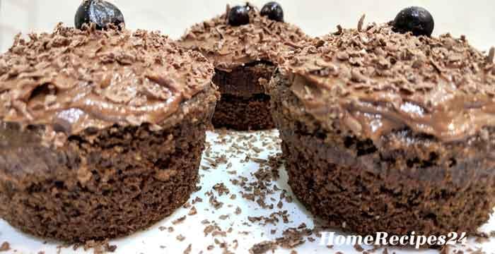 Шоколадные кексы - маффины