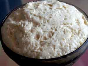 Тесто для пирога с творожной  массой