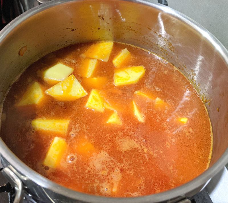 вегетарианский фасолевый суп - рецепт