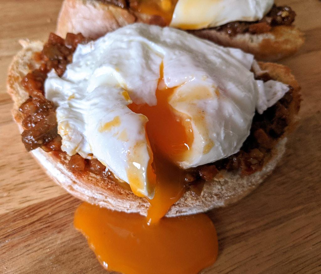 Яйцо пашот - завтрак по французски