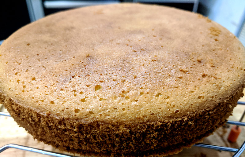 Кекс без глютена с рисовой мукой